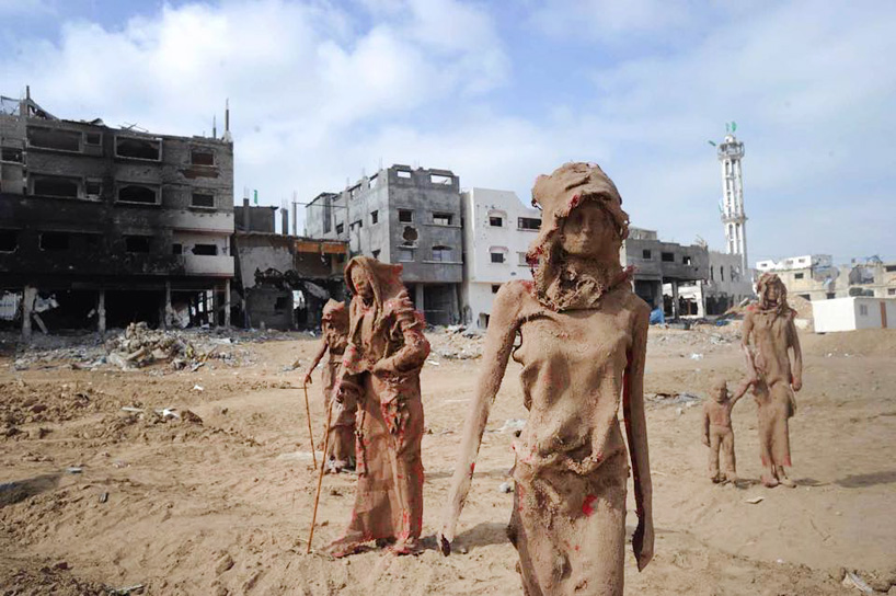 palestinian-artist-gaza-clay-sculptures-displacement-destruction-designboom-071